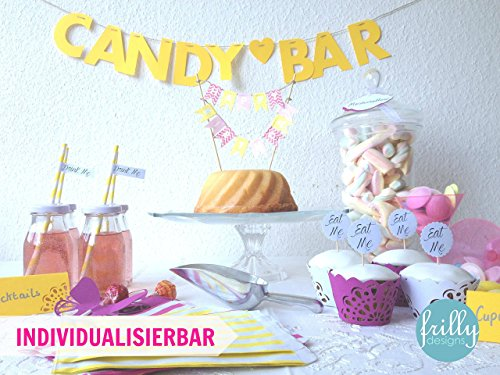 candy-bar-girlande