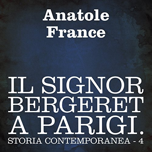 Il signor Bergeret a Parigi  Audiolibri