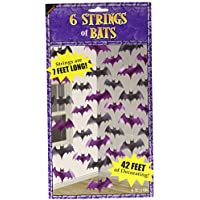 Amscan Halloween Bat String Decorations