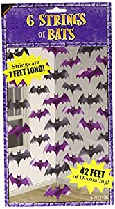Amscan International 672000 Decorative String Bat Party Set