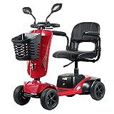 Elektromobil Senioren Seniorenmobil Seniorenfahrzeug,älterer Wagen Faltbarer Elektrischer Rollstuhl Roller Scooter Für Erwachsene Behinderte,elektroroller Elektrofahrzeug Led Scheinwerfer