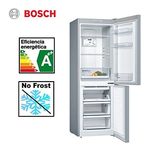 Bosch KGN33NL3A nevera congelador Independiente Acero