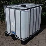 Class IBC Tank 1000L, Trinkwassertank auf PE-Palette Gitterbox gebraucht #6