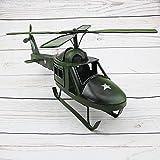Kaige Tischdekoration Hubschrauber Modell Ornamente Retro