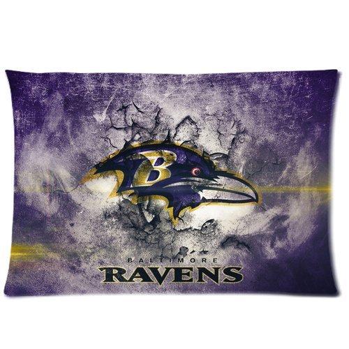 yy-shop Custom Ravens Baltimore Muster Kissenbezüge Standard Größe 20* 30(Zwei Seiten)-Geschenk, C, 20 by 30 - Custom Shop 30
