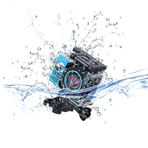 stage Camera Wifi Waterproof Camcorders 12MP 1080P seriously HD Cam along with UnderWater 30M 98ft 20 LCD tv screen and 170 Degree tremendous Angle LensBlue stage Cameras