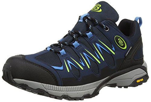 Bruetting EXPEDITION, Herren Trekking- & Wanderhalbschuhe, Blau (MARINE/BLAU/LEMON), 38 EU (4 Herren UK)