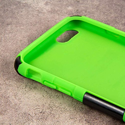 "MPERO IMPACT X Series Kickstand Case Tasche Hülle for Apple iPhone 6 Plus 5.5"" - Coral / Mint Neon Green,IMPACT XT"