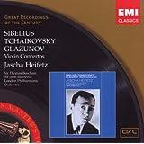 Sibelius; Tchaikovsky; Glazunov: Violin Concertos by Thomas Beecham, John Barbirolli, London Philharmonic Orchestra, Jean Sibelius, P [Music CD]