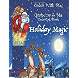 Color With Me! Grandma & Me Coloring Book: Holiday Magic