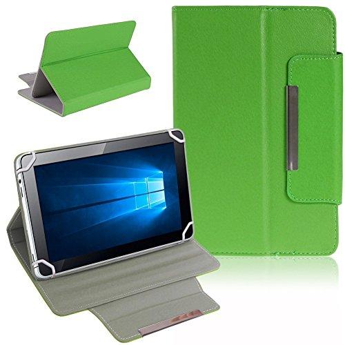 Tablet Schutz Tasche Hülle für ARCHOS 101b Xenon Case Cover Universal Bag NAUCI, Farben:Grün