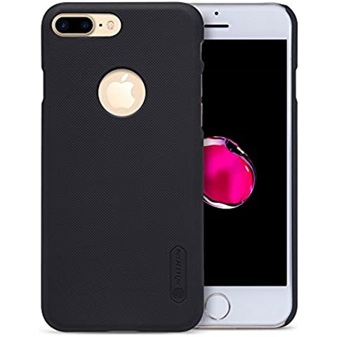 Custodia iPhone 7 Plus,Grandcaser Fit Premium Opaca Caso Cover - Armor Shock-Absorption Protettiva Custodia Per iPhone 7 Plus (2016) - Nero