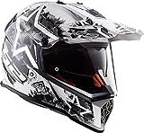 LS2-404362402L/162 : LS2-404362402L/162 : Casco enduro offroad motocross PIONEER...