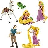 Bullyland Disneys Rapunzel Pascal Flynn Rider Maximus Set 6 Figuren