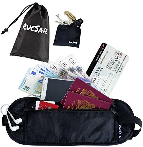 rucsafe nascosto da viaggio con blocco RFID con accessori
