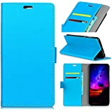 Danallc Samsung Galaxy J4 2018 Case, Protective Retro Multifunction Leather Wallet Case Cover [ Kickstand ] Pu Leather Wallet Case With ID & Credit Card Slot For Samsung Galaxy J4 2018