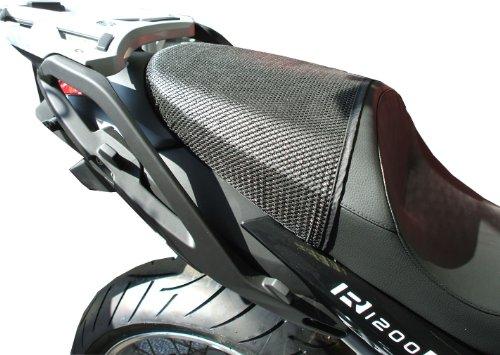 Triboseat Coprisella Passeggero Antiscivolo Nero Compatibile Con BMW R1200R (2011-2014)