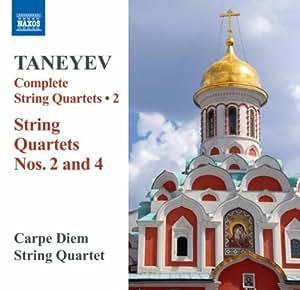 Taneyev: String Quartets 2, 4
