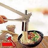 MUUZONING Torchio per Pasta Macchina per la Pasta Torchietto Stampo Passatelli Schiacciapatate Pasta Maker Manuale Noodles Pressa, Marmellata, Verdure e Frutta Juicer Manualmente con 7 Noodle Mould