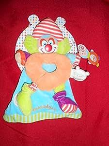Doudou clown Bouilles de doudou Doudou et compagnie