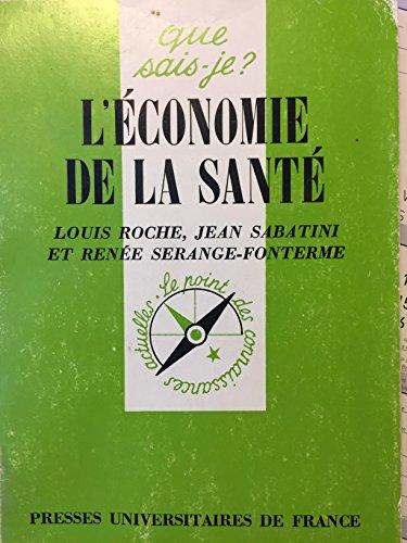 L'économie de la santé