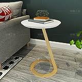 Hongsezhuozi Tische Tee Tisch Couchtisch Massivholz Kleine Runde Tisch Einfache und Stilvolle Beistelltisch Wohnzimmer Sofa Ecktisch Balkon Freizeit Tisch (Farbe : B)