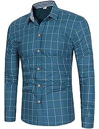 Amazon Camicie Casual Uomo Camicie Abbigliamento Camicie it rqwa7Br