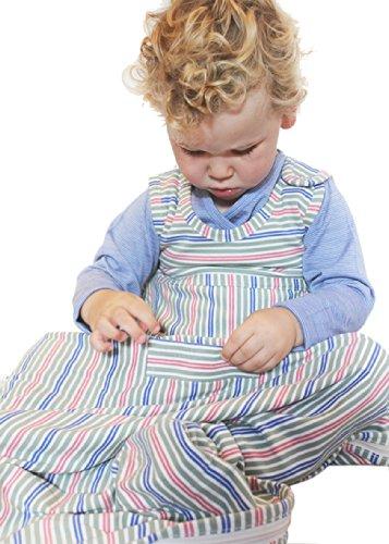 Merino kids sacco nanna cotone biologico per neonati 0-2 anni mulberry
