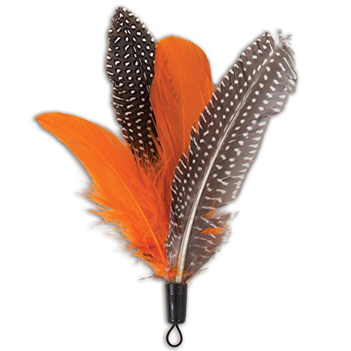 dos-jackson-galaxy-mojo-maker-air-prey-toy-cats-basic-instincts-faux-feathers