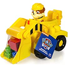 Patrulla canina 6026140 - Bulldozer Rubble, vehículo en miniatura