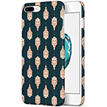 Buddha Head Pattern Apple iPhone 7 PLUS Snap-On Hard Plastic Protective Shell Case Cover Tasche Handy Hülle