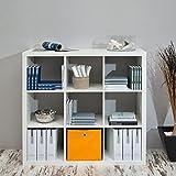 lounge-zone Regalwürfel Regal SZENE 9 Fächer weiß-weiß 12971