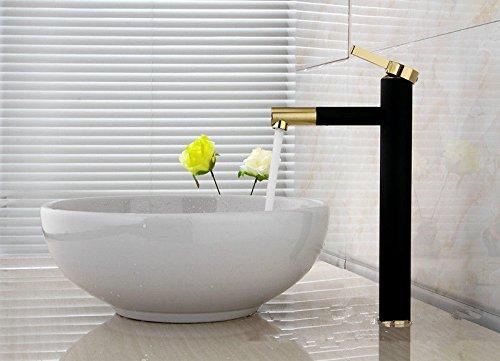 uhm-vernice-nera-in-ottone-bagno-vasca-lavello-rubinetto-miscelatore-leva-singola-di-toccare