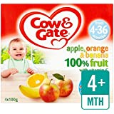 Cow & Gate Pomme Orange & Banana Fruit Pots 4 x 100g