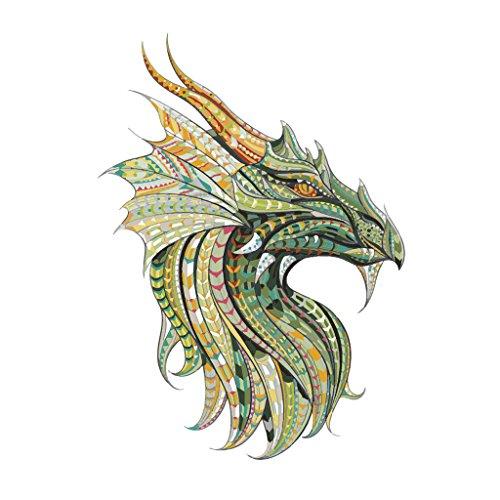 Yanhonin Le Dragon ropa corrige hierro impresión