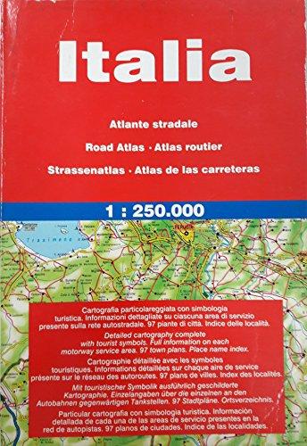 ITALIA ROAD ATLAS: With 106 Town Plans and Full Index (Maps & Atlases) por Litografia Artistica Cartografica (LAC)