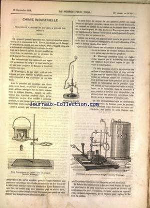 SCIENCE POUR TOUS (LA) [No 40] du 30/09/1876