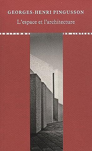 Cours Architecture - L'espace et l'architecture : Cours de gestion