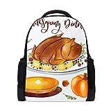 MONTOJ Delicate Thanksgiving Dinner-Tasche aus Polyester