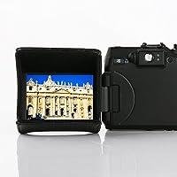 Cappuccio d'ombra LCD Movo LH27 Deluxe per monitor LCD estraibili di fotocamere reflex digitali e videocamere (per monitor di 6.9cm [2.7