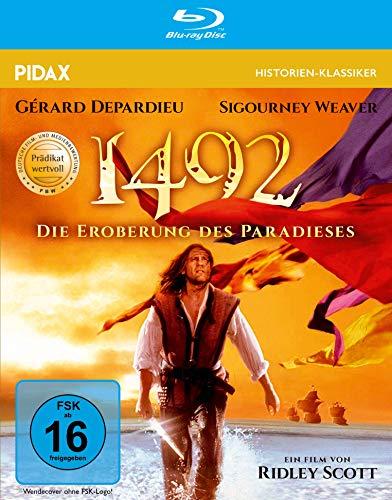1492 - Die Eroberung des Paradieses / Mit dem Prädikat WERTVOLL ausgezeichnetes Meisterwerk (Pidax Historien-Klassiker) [Blu-ray]