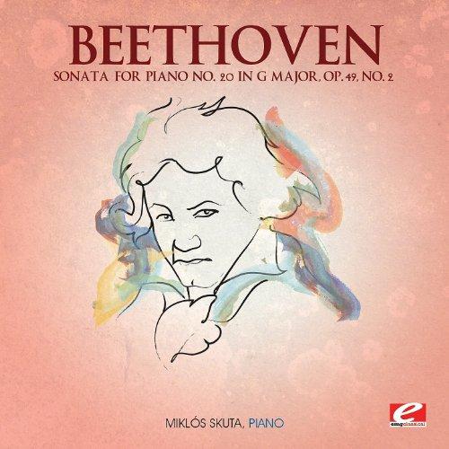 Sonata for Piano No. 20 in G Major, Op. 49, No. 2: I. Allegro ma non troppo