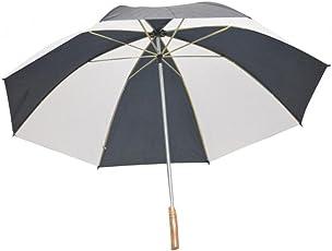 Shroff's Anchor Large Grey-White Golf Umbrella