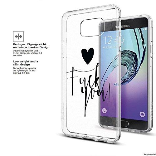 Motivo Serie 1 Custodia Rigida Iphone - Gatto corto, Samsung Galaxy A3 2017 Fick dich