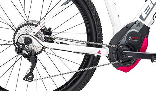 Damen E-Bike 27,5+ Zoll weiß - Bulls Aminga Eva 2 E-Mountainbike - Bosch CX Mittelmotor, Intube-Akku 500Wh, Shimano Schaltung