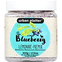 Urban Platter Blueberry Lemonade Premix, 500g [Instant, Refreshing & Rich in Antioxidants]
