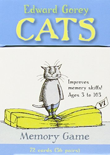 Edward Gorey's Cats Memory Game  Mg010