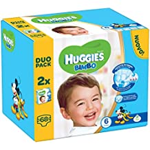 Huggies - Bimbo - Pañales - Talla 6 (15 - 30 kg) - 2 x 34 pañales