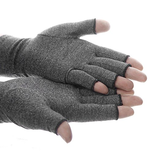 Comficent Guantes agarre unisex Mitones lana sin dedos