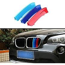 Automan Für BMW X1 E84 2010-2015 Front Grill Gitter Streifen Verkleidung Auto Zubehör